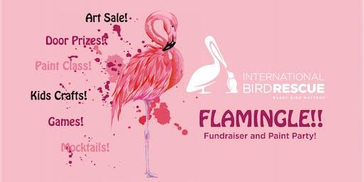 Flamingle!! Paint Party & Fundraiser