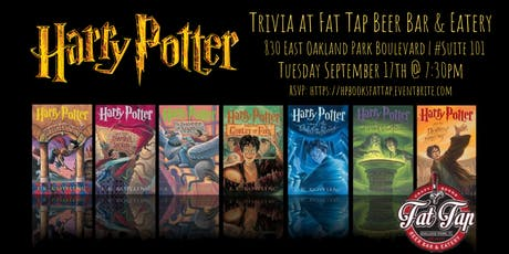 Harry Potter (Books) Trivia at Fat Tap Beer Bar and Eatery tickets