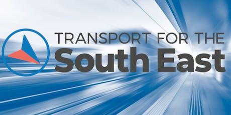 TfSE Transport Strategy Regional Drop-in Event - Southampton tickets