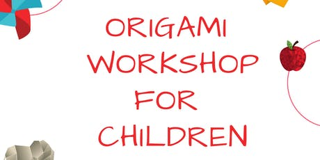 Origami for kids tickets
