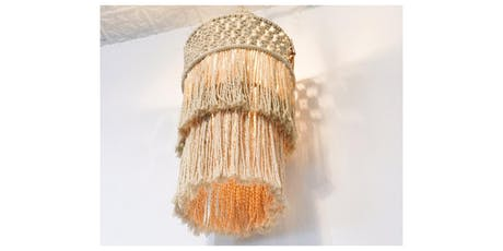 Make your own Macramé Chandelier Workshop tickets