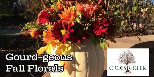 Gourd-geous Fall Florals Workshop