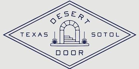 Plant Walk and Talk with Desert Door tickets