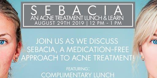 Sanova Dermatology - Pflugerville | Sebacia: An Innovative Acne Treatment Lunch & Learn Event