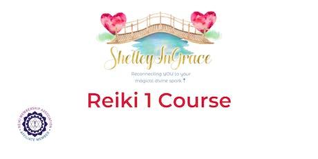 Reiki 1 Course tickets
