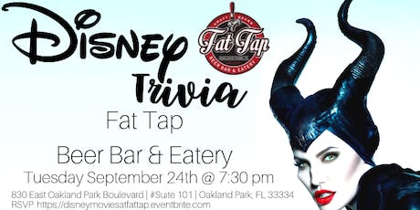Disney Movie Trivia at Fat Tap Beer Bar and Eatery tickets
