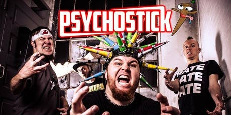 Psychostick w/ The Rewind, Saints of Lust & Grever tickets