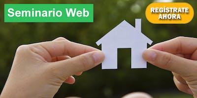 Seminario Web: Como Comprar Casa *** 0% De Enganche, Mal Crédito, No Ingresos, No Papeles, y Sin Problemas!