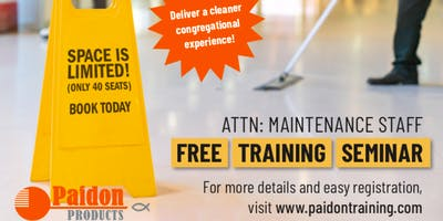Paidon Maintenance Staff Training Event