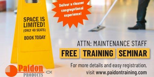 Paidon Maintenance Staff Training Event