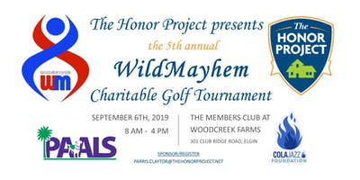 5th annual WildMayhem Golf Tournament benefiting PAALS and ColaJazz Fnd.