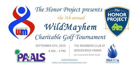 5th annual WildMayhem Golf Tournament benefiting PAALS and ColaJazz Fnd. tickets