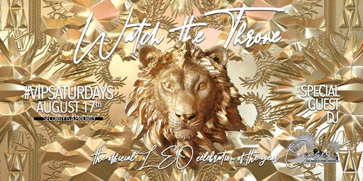 #VIPSATURDAYS WATCH THE THRONE - Lexington