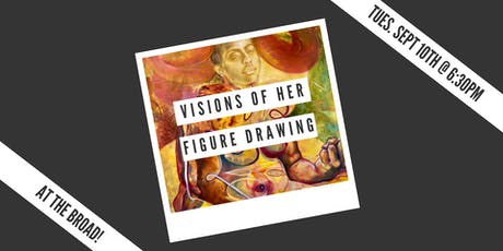 Visions of Her: Figure Drawing Night tickets