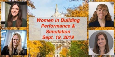 Women in Building Performance and Simulation - IBPSA-USA WI Chapter Event tickets
