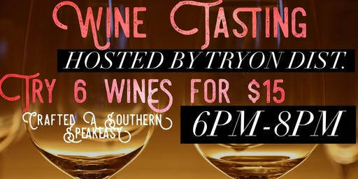 Wine Tasting with Tryon Dist.