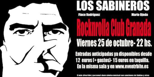 Los Sabineros regresan a la Rocknrolla Club, Granada!