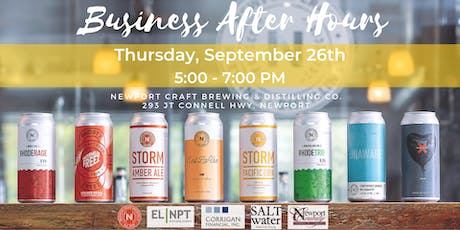 Business After Hours at Newport Craft Brewing & Distilling Co. tickets