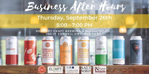 Business After Hours at Newport Craft Brewing & Distilling Co.