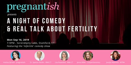 pregnantish Presents: A Night of Comedy and Real Talk About Fertility tickets