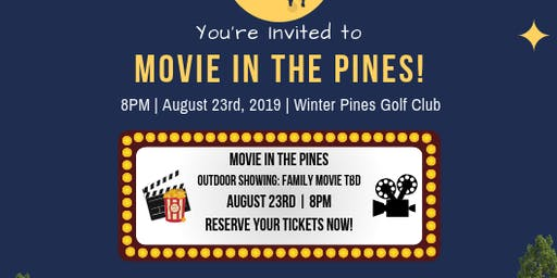 Movie in the Pines!