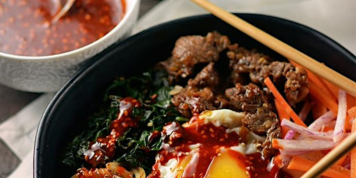 Date Night: Korean Food Cooking Class w. complimentary wine (+BYO)