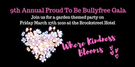 9th annual Proud to Be Bullyfree Gala tickets