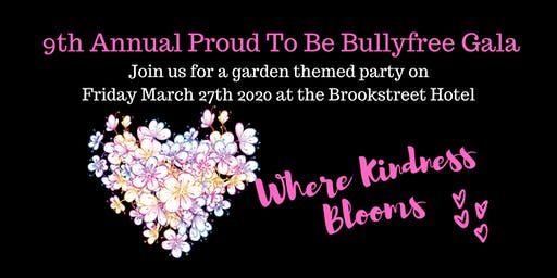 9th annual Proud to Be Bullyfree Gala