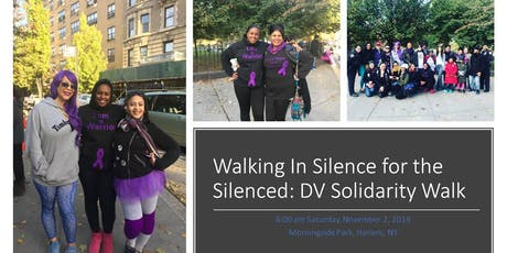 Walking In Silence for the Silenced:  Domestic Violence Solitary Walk tickets