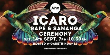 ICARO : Rapé & Sananga Ceremony hosted by Gareth Hughes tickets
