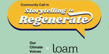 Storytelling to Regenerate @PHX tickets