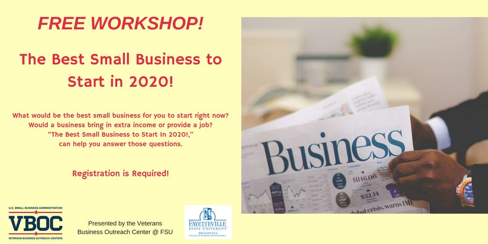 Best Business To Start 2020 The Best Small Business to Start In 2020! Tickets, Thu, Jan 23