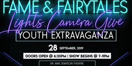 "6th Annual Wish Upon a Star Soiree ""Fame & Fairy Tales"" Youth Extravaganza tickets"