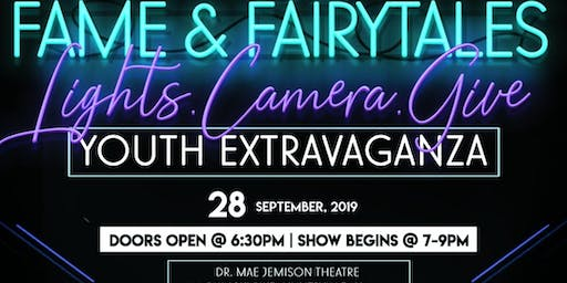 "6th Annual Wish Upon a Star Soiree ""Fame & Fairy Tales"" Youth Extravaganza"