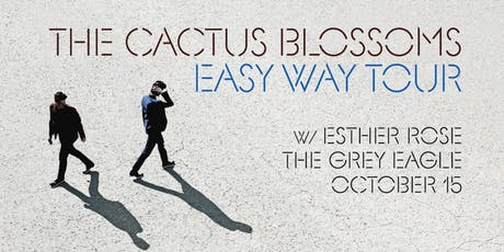 The Cactus Blossoms tickets