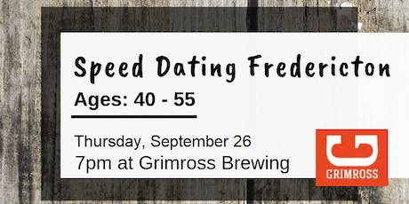 Speed Dating Fredericton - Ages: 40 - 55 tickets