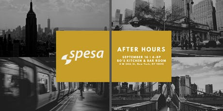 SPESA After Hours in NYC  tickets