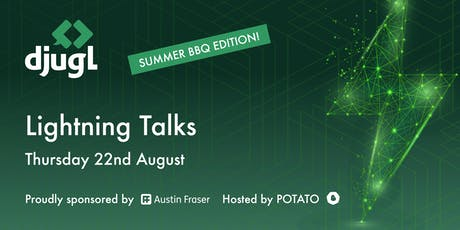 DJUGL | Lightning Talks & Summer BBQ Edition tickets