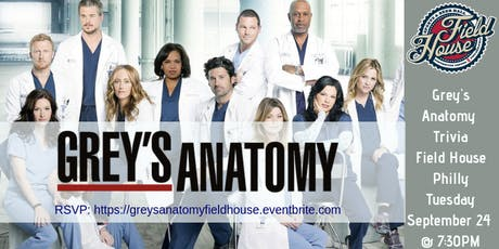 Grey's Anatomy Trivia at Field House tickets