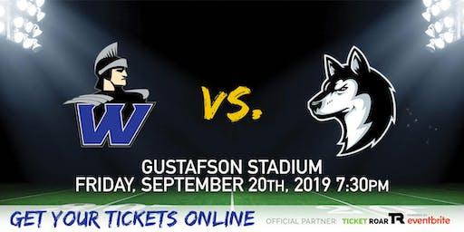 Warren vs Holmes Varsity Football