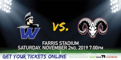 Warren vs Marshall Varsity Football