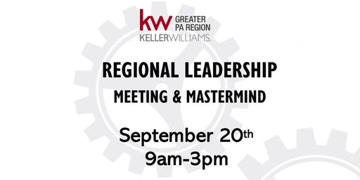 September Regional Leadership Meeting