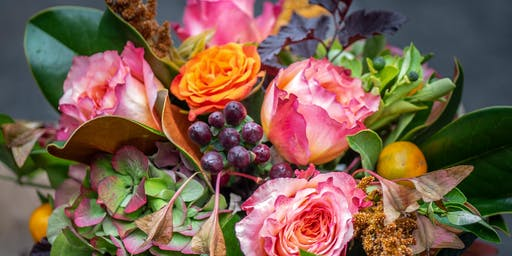 Fall Floral Arrangement Workshop