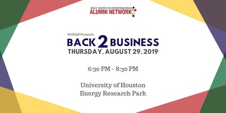 WCEAN Presents: Back 2 Business tickets