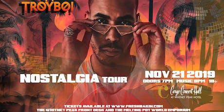 TroyBoi - Nostalgia Tour at Cargo Concert Hall tickets