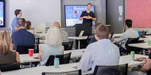 Founders Stories Austin with Jamie Catanach & Daniel Senyard
