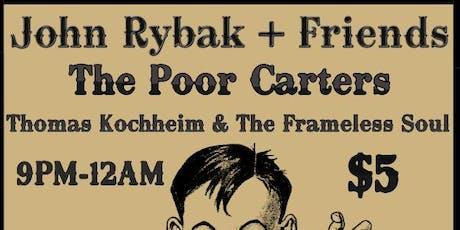 John Rybak + Friends, The Poor Carters, Thomas Koccheim & TFS tickets