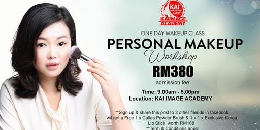 One Day Personal Makeup Workshop with KENZOOI