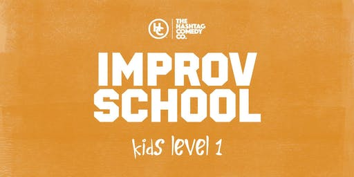 Kids Improv Classes, Level One (ages 8-13), Fall 2019