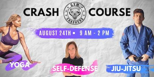 CRASH COURSE: Yoga, Women's Self Defense and Brazilian Jiu-Jitsu Workshop
